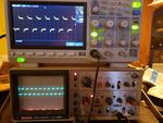 Scope problem fed from analog scope generator